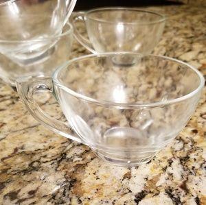 Glass Tea Cups (4)